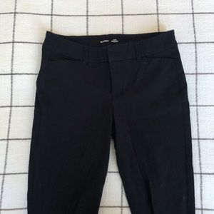 Black Old Navy Pixie Ankle Pants
